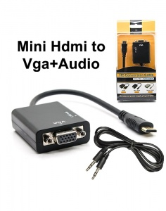 Mini HDMI to VGA