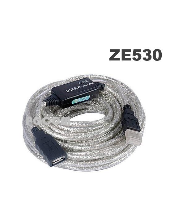 Ze530 Ze 530 Usb2 0 10m Ztek สายต่อยาวusb สายต่อพ่วงความ